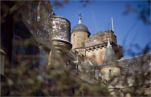 glenapp castle turrets towers