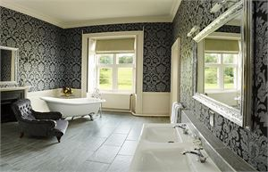 blairquhan castle queens bathroom