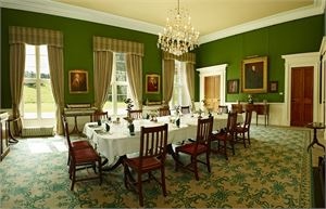 blairquhan castle dining room