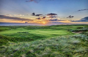 MachDunes Hole9 Sunset