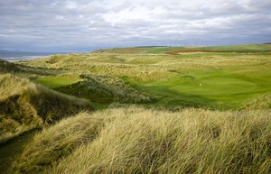 Machrihanish Dunes 10 Green from 11 Tee