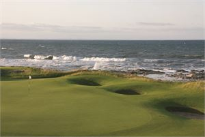 Kingsbarns 2nd par 3